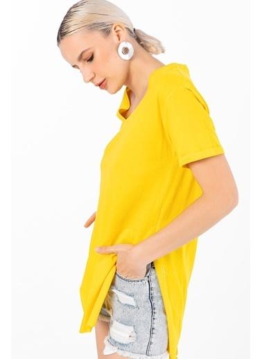 Emjey Tişört Sarı